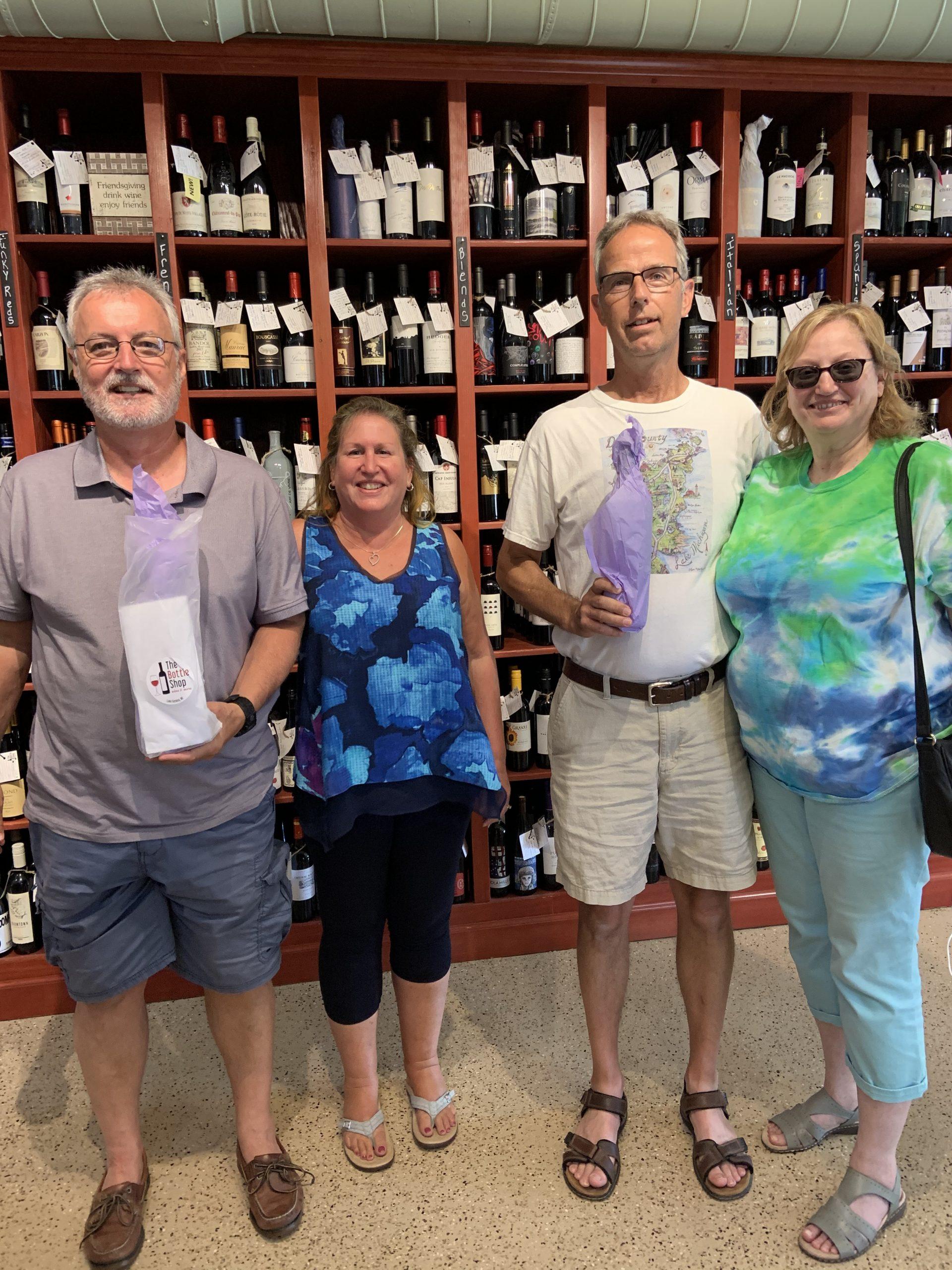 Wine club pick up